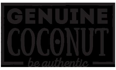 Genuine Coconut | Agua de Coco en su envase original