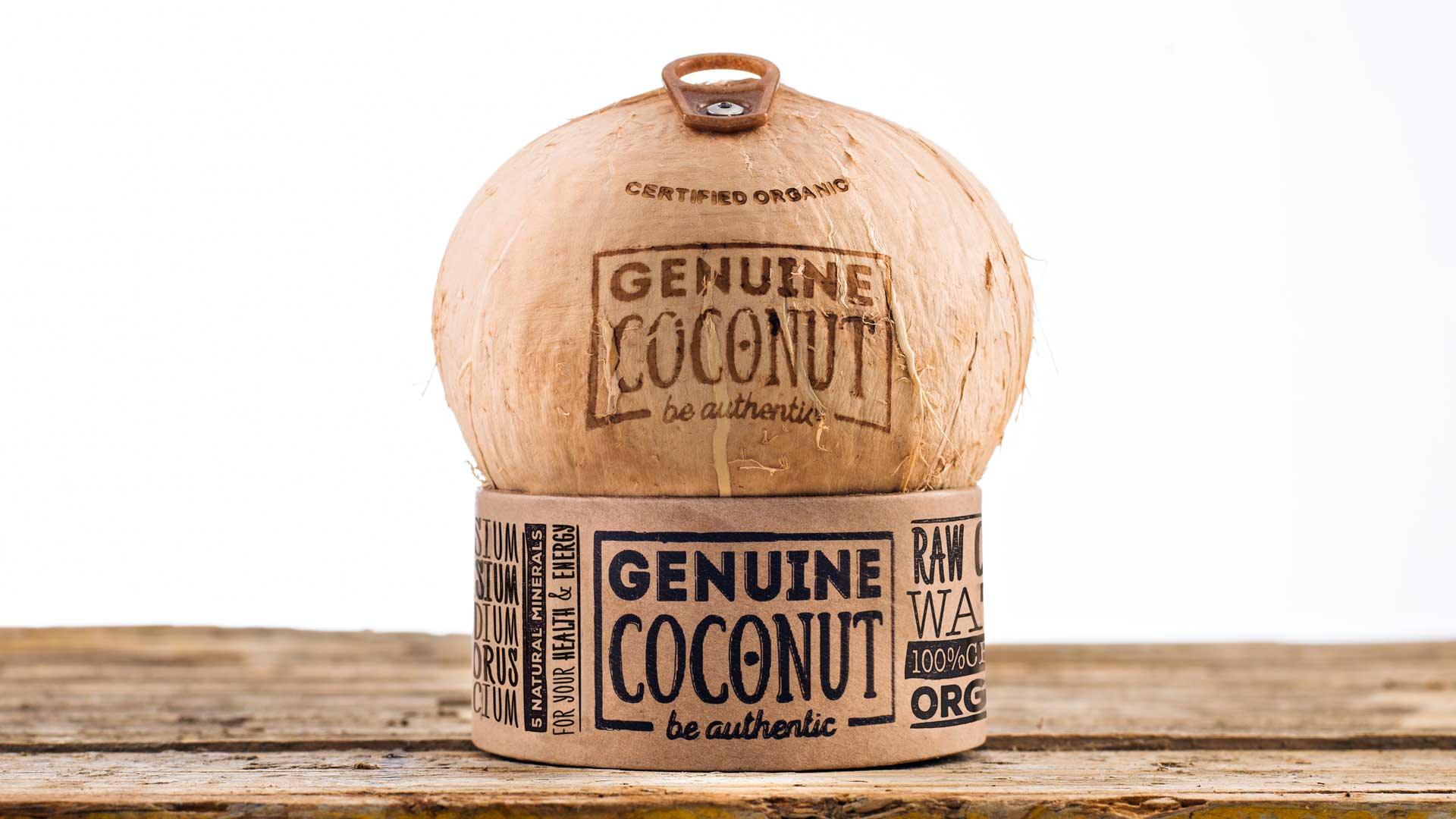 Genuine Coconut  Organic Coconut Water