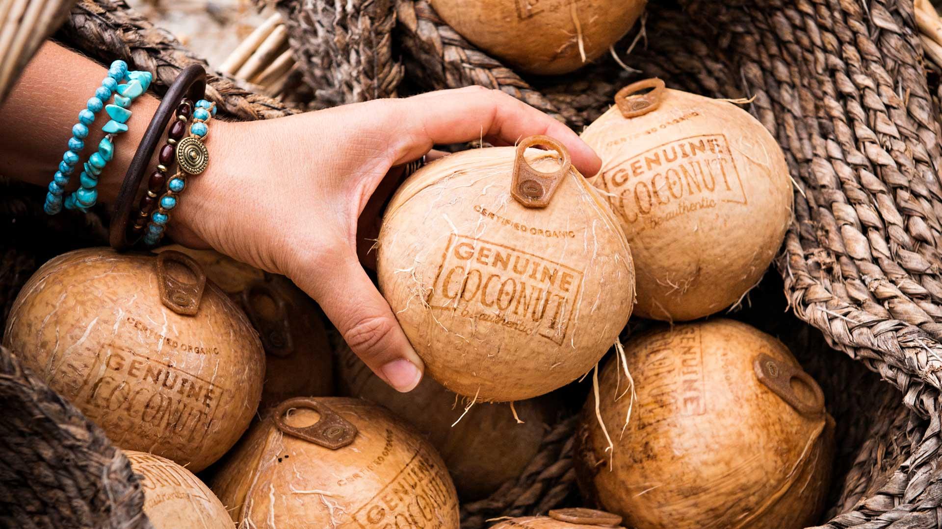 agua de coco genuine coconut tailandia