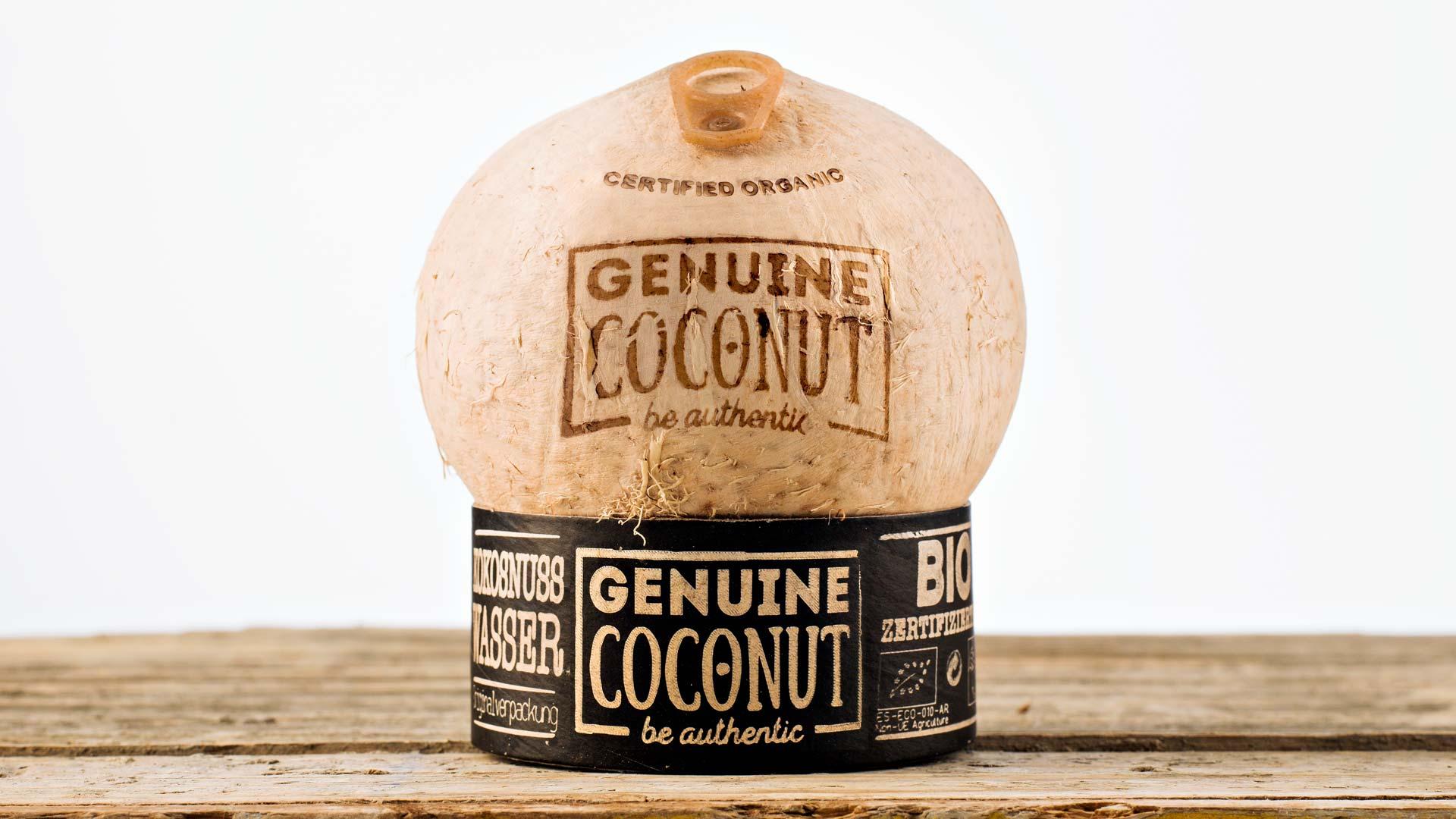 genuine coconut Bio Kokosnusswasser