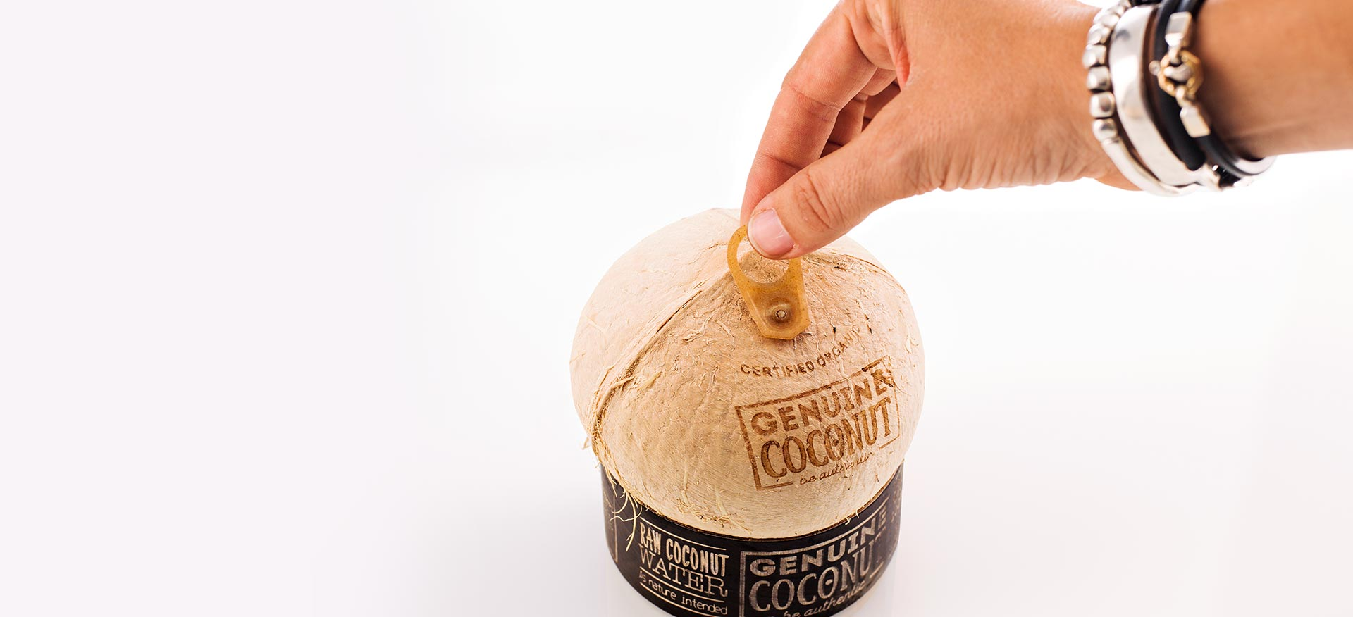 easy opening coconut water genuine