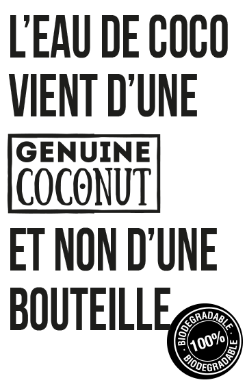 eau de coco genuine coconut